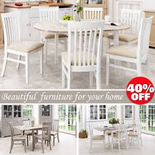 Oval Kitchen Table And Chairs Oval Dining Table Tables Ebay