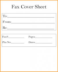 fax cover letter word document fax cover sheet template