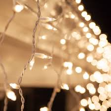 Indoor Christmas Lights White Wire Clear Icicle Lights White Wire Icicle Christmas Lights