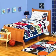 toddler sports bedding bedroom sets kids comforter themed set toddler sports bedding