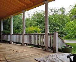 victorian wrap around porch removing a railing