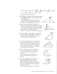 quadratic equation word problems worksheets trig worksheet answers inspirational solving right triangles free
