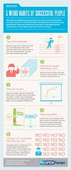 17 best ideas about successful people habits of 5 weird habits of successful people infographic