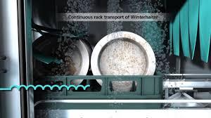 See Through Dishwasher Winterhalter Rack Conveyor Dishwasher Continuous Rack Transport