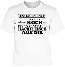 Lustiges T Shirt Hobbykoch Hobby Koch Küchen Shirt Geschenk
