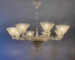 murano chandelier from barovier