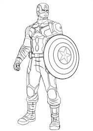 Small Picture Lego Captain America Coloring Pages Printable Coloring Coloring