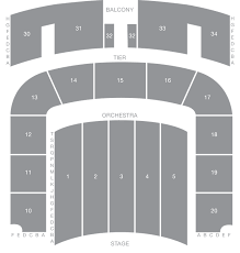 Ryman Seating Chart With Seat Numbers War Memorial Auditorium Seat Map Tpac