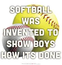 pics of softball sayings cute softball sayings