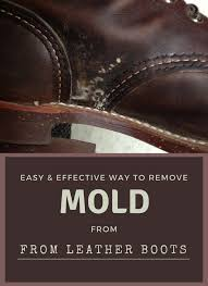 easy effective way to remove mold from leather boots boots leather