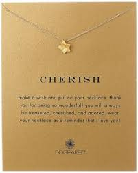 amazon dogeared reminders cherish plumeria gold charm necklace 18