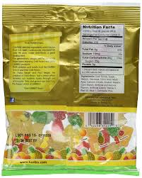 amazon haribo sour gold bears gummi candy bag 4 5 oz 127g 4 bags grocery gourmet food