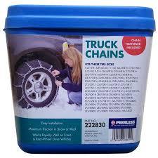 Peerless Chain Truck Tire Chains 0222830 Brickseek