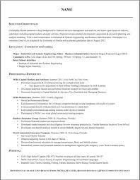 Proper Resume Format 2 Proper Format Of Resume