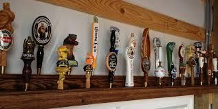 wall mounted beer tap handle display mounts