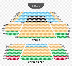 David Copperfield Vegas Seating Chart Prince Of Wales Theatre Seating Map Prince Of Wales