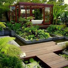 Small Picture Amazing Bathroom Garden Room Designs Modern Design Ideas Small