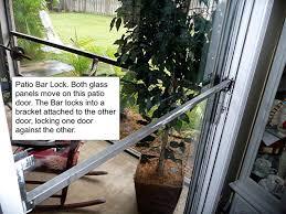 sliding patio door security locks