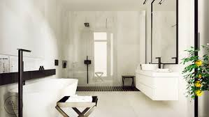 Whitemarblebathroom Interior Design Ideas - White marble bathroom
