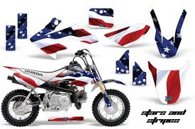 The honda crf is a line of motocross, trail, and dual sport motorcycles. Honda Crf50 2004 2015 Graphics