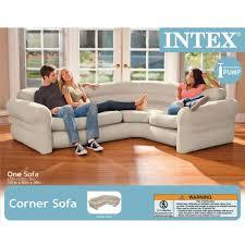 inflatable furniture. Intex Inflatable Corner Sofa, 101\ Furniture