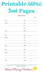 Address Book Template Address Book Template Excel Mailing List Word Envelope