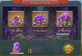 Got Gems The Importance Of Treasure Trove Lords Mobile