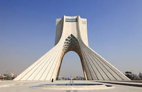 Azadi Tower in Tehran - Iran