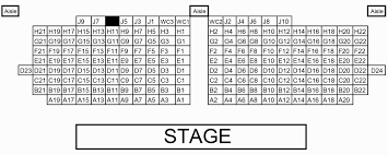 Clove Creek Dinner Theater Seating Chart Theatre Seating Chart And Stage Dimensions North Castle