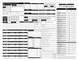 character sheet pathfinder where can you find a pathfinder character sheet editable