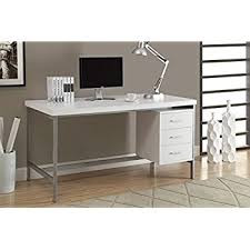 metal office desks. monarch hollowcoresilver metal office desk 60inch white desks