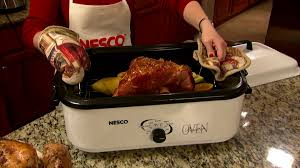 Fast Cooking Ovens 18 Qt Nesco Roaster Oven Roaster Oven Cooking Pinterest