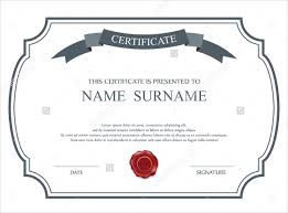 blank certificates 36 blank certificate template free psd vector eps ai format