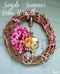 simple diy summer wreath idea