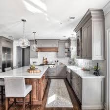 White kitchen Dark Floor Traditional Kitchen Designs Elegant Kitchen Photo In New York The Home Depot 75 Most Popular White Kitchen Design Ideas For 2019 Stylish White