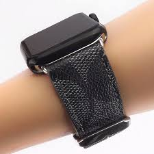 perfect replacement leather watch band for all apple watch 42mm and 44mm series 1 2 3 4