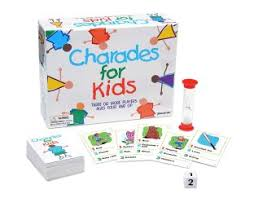 Charades For Kids  3 Words 4 Syllables