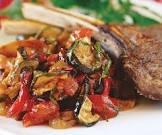 baked vegetable ratatouille