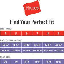 Hanes Briefs Size Chart Pin On Chart