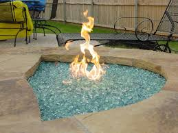 glass for fire pit