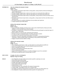 Best Nurse Resume Operating Room Nurse Resume Samples Velvet Jobs