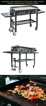 outstanding propane flat top grill outdoor gas blackstone 36 inch simple griddle statio