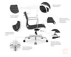 the eames office. Eames Management Chair Replica - Style Features The Office