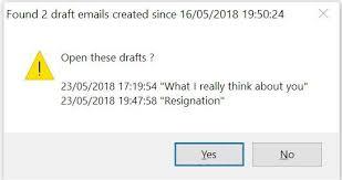 Email Reminder Outlook Draft Email Reminder Guy Leechs Blog
