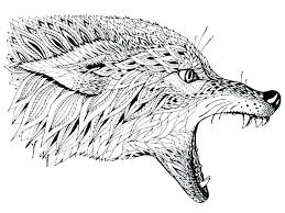 Wolf Coloring Pages To Print Wolf Coloring Pages For Adults Wolf