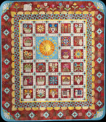Quilt Tour: 2015 Houston Quilt Festival & 2015 IQA Best of Show Ewe Are My Sunshine Janet Stone, Kansas. Adamdwight.com