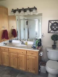 Affordable Bathroom Light Fixtures Bathroom Light Fixture Makeover Sawdust Sisters