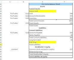 Pro Forma Calculator Pro Forma Income Statement Excel Pro Income Statement Excel Pro