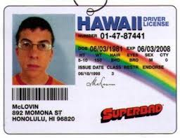 Air Superbad License Coolest Stuff Freshener Ever Mclovin The
