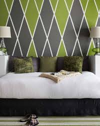 Wall Patterns With Tape Stunning Wall Paint Design Ideas With Tape Images Mericamediaus